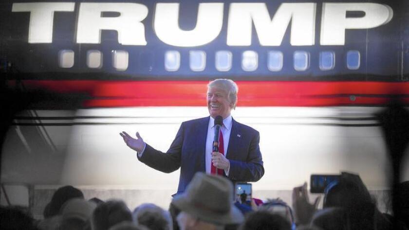 Donald Trump parece ver la presidencia como una forma de solucionar problemas a través de la voluntad pura y la habilidad de negociación.