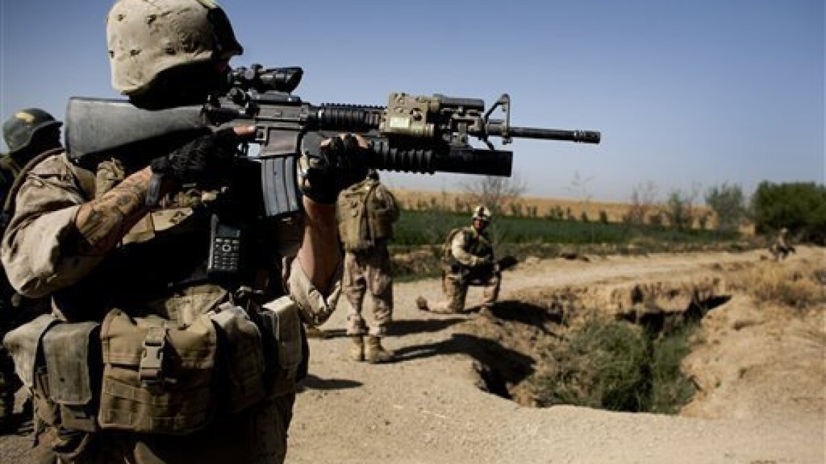 US rifles not suited to warfare in Afghan hills - The San Diego