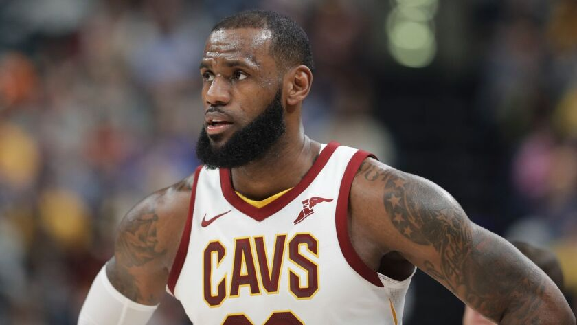 The Cavaliers' LeBron James is assembling an all-around season that statistically could be better than any player in NBA history (AP Photo/Darron Cummings)