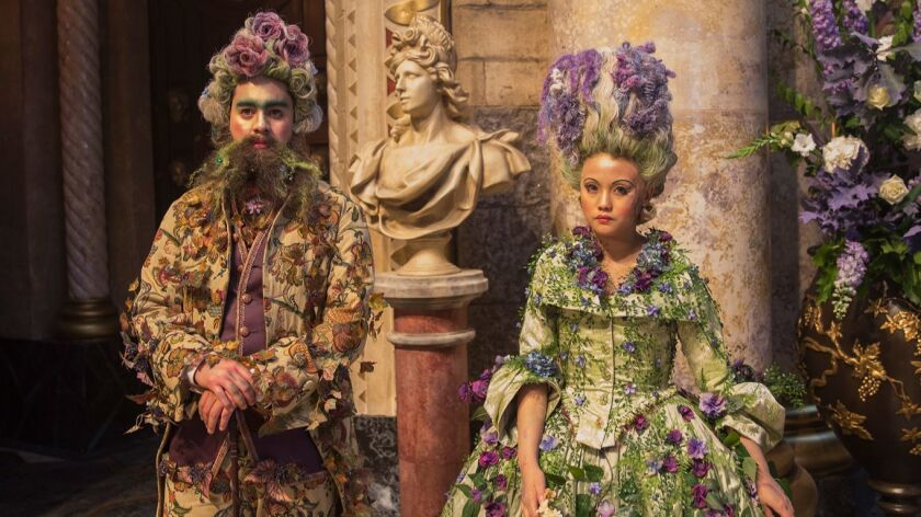 """The Land of the Flowers costumes from Disney's """"The Nutcracker and the Four Realms."""""""