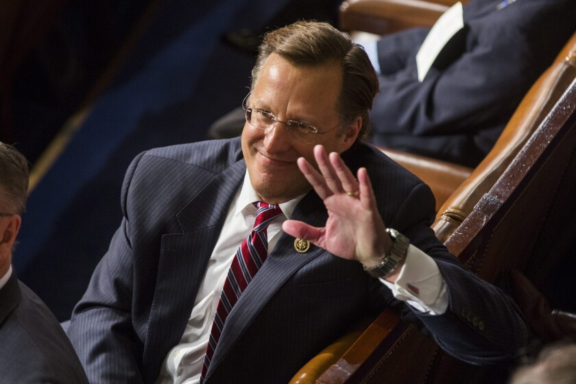 Republican Rep. Dave Brat of Virginia shocked the nation when he unseated powerful and deep-pocketed House Majority Leader Eric Cantor.