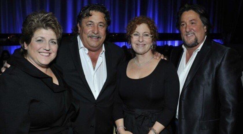 Rosemary and Frank Busalacchi, Lisa and Joe Busalacchi of angel sponsor Busalacchi Restaurants (Photo: Rob McKenzie)