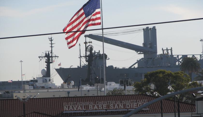 Base naval de San Diego, California.