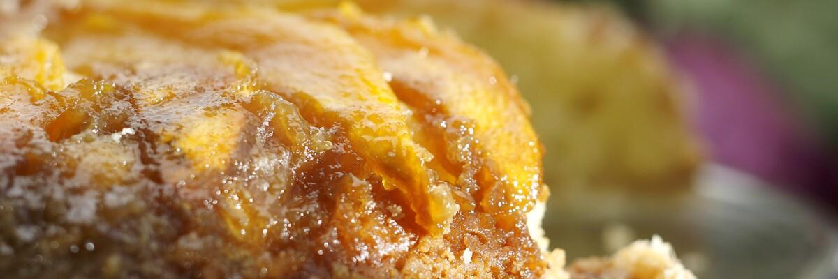 Upside-down cake recipes
