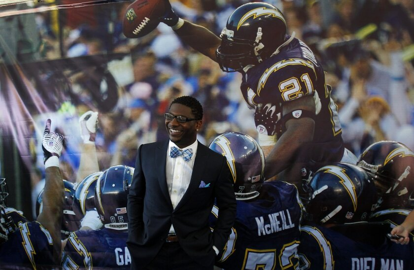 LaDainian Tomlinson resigned and retired as a Charger on Monday, June 18, 2012.