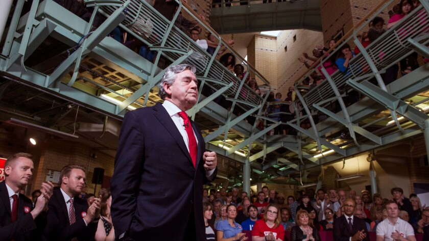 Gordon Brown tells British voters to 'Remain In'