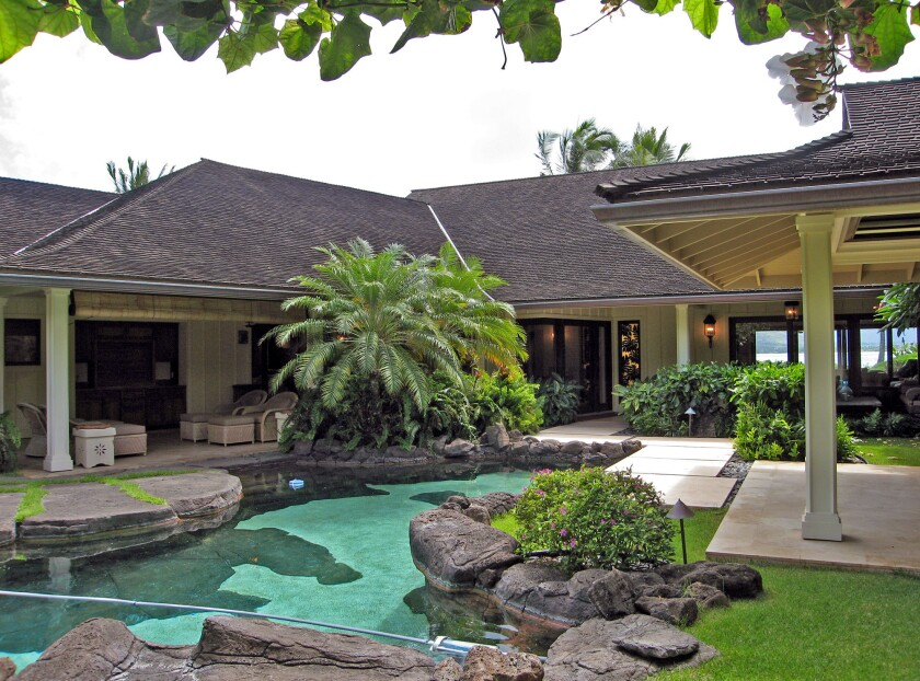 The Obama family has rented the Plantation Estate, a 5,000-square-foot with five bedrooms, on Oahu.
