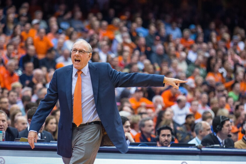 North Carolina ruins Jim Boeheim's return from suspension with 84-73 win over Syracuse