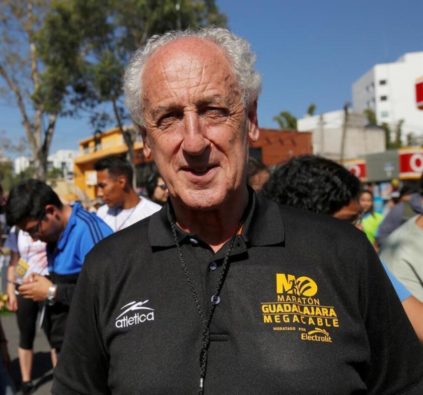 Fotografía del 5 de noviembre de 2017 que muestra al presidente de la Asociación Internacional de Maratones (AIMS), el español Paco Borao, en entrevista con EFE. EFE/Archivo