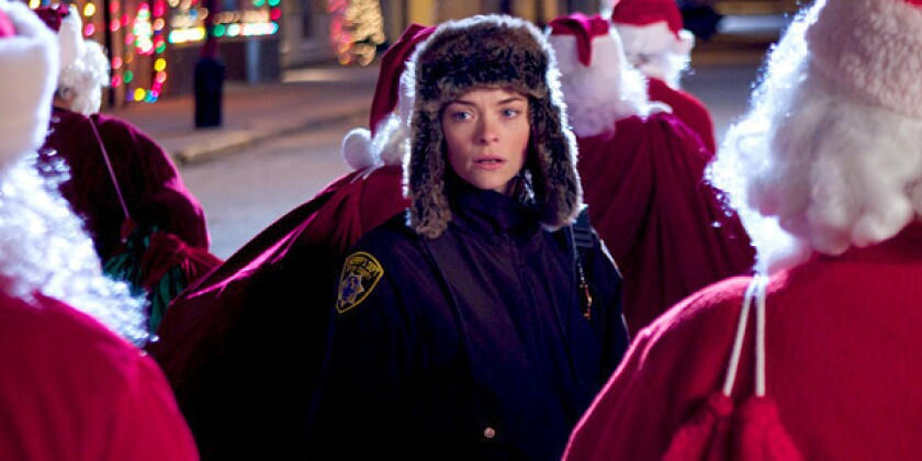 Movie review: 'Silent Night' drips with Santa's naughty side