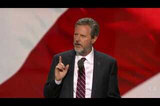 Watch: Jerry Falwell Jr. goes after Clinton at Republican National Convention
