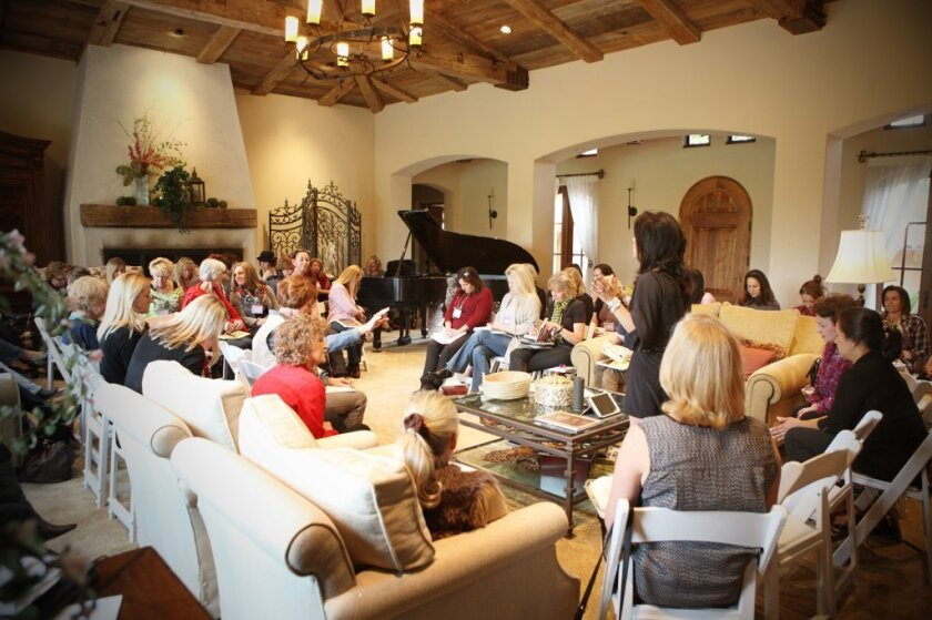 The Just Jesus Bible Study group has outgrown Lindsey Clifford's home and will meet at the Rancho Santa Fe Garden Club. Courtesy photo