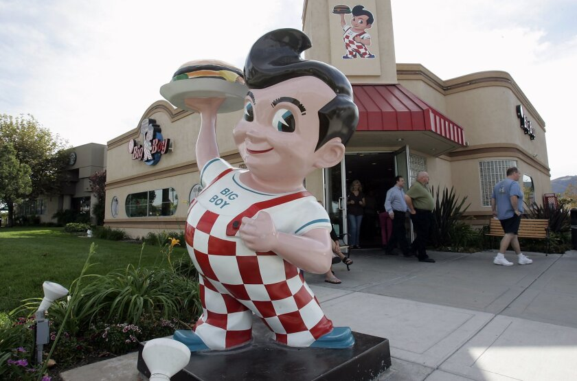 This Bob's Big Boy in Temecula is among recent restaurants in the chain that opened and subsequently closed.