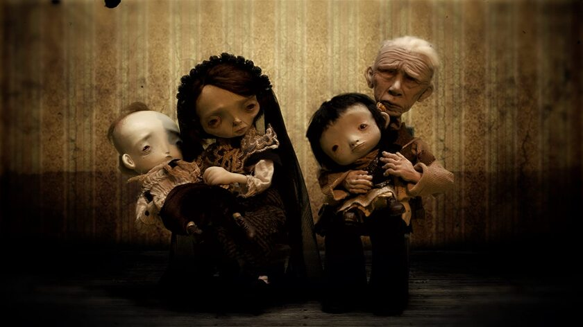 """The somber """"La Noria,"""" from director Karla Castañeda, uses stop-motion to explore the fragility of life."""