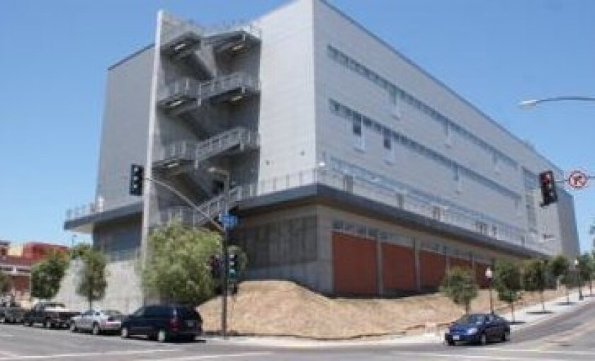 San Diego City College, one of three campuses in the San Diego Community College District.