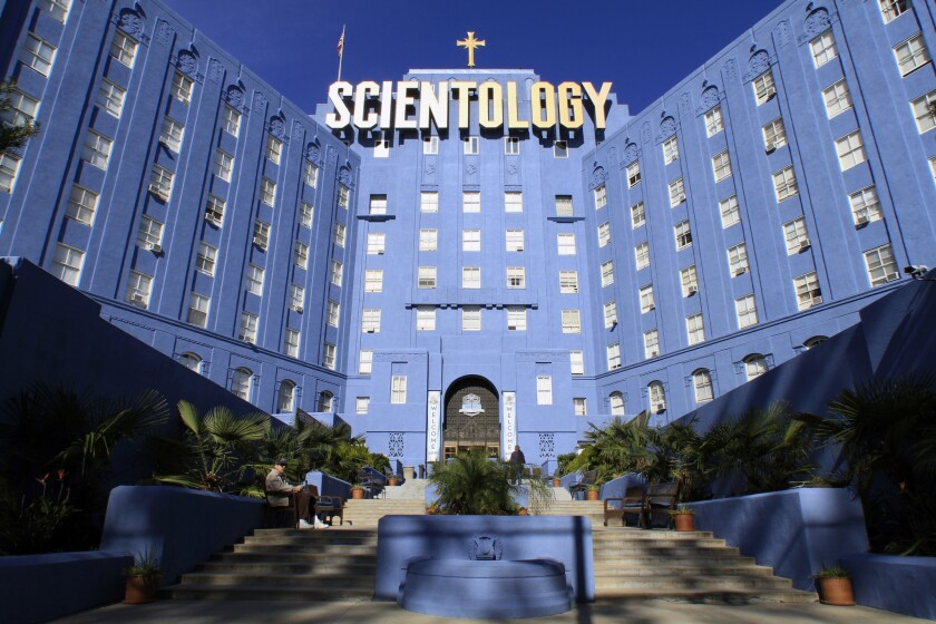 A Scientology building on Fountain Avenue in Los Angeles.
