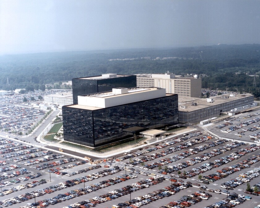 Massive data surveillance, as carried out by the National Security Agency, whose Fort Meade, Md., headquarters is pictured, was targeted by a U.N. resolution on digital privacy and ruled by a federal judge to probably be in violation of the U.S. Constitution.