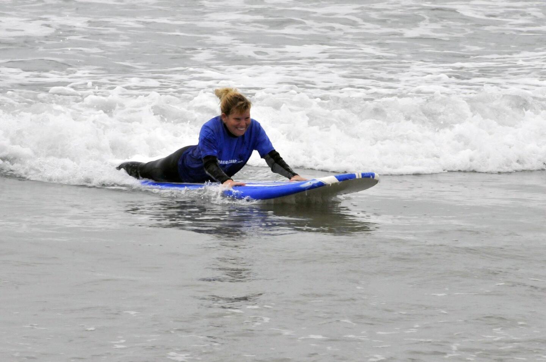 Blind surf event