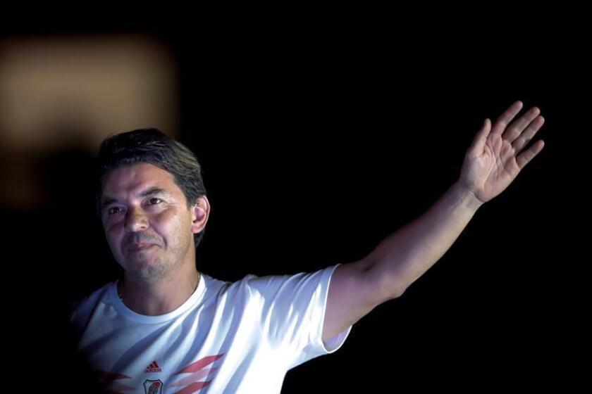 Marcelo Gallardo, entrenador de River Plate. EFE/Archivo