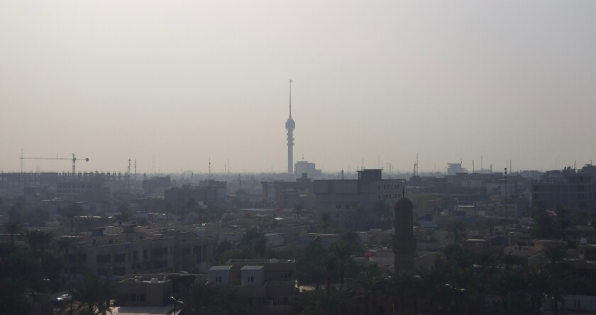 The Baghdad Tower is one of the Iraqi capital's tallest buildings -- and for years has remained derelict.