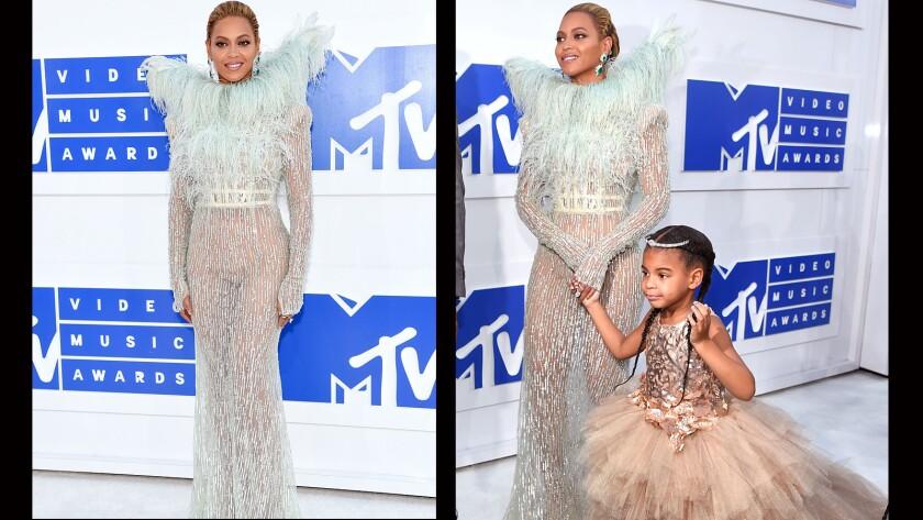 Beyoncé and her daughter, Blue Ivy.