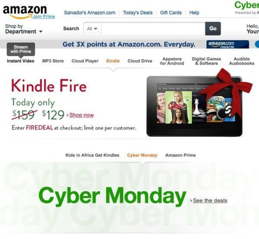 Cyber Monday sales up 17% to nearly $2 billion, exceeding forecast