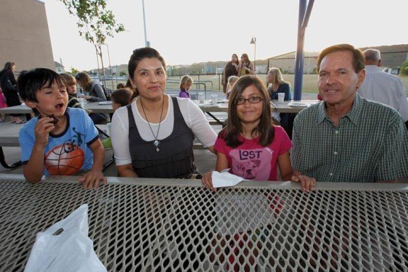 Ari, Latisa, Sanina, and Duncan Engel. Photos by Jon Clark