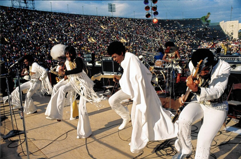 """A scene from the newly restored and digitally remixed 1973 documentary """"Wattstax."""""""