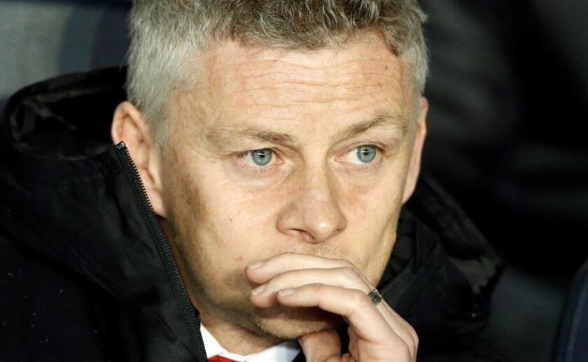 El entrenador de Manchester Ole Gunnar Solskjaer. EFE/Archivo