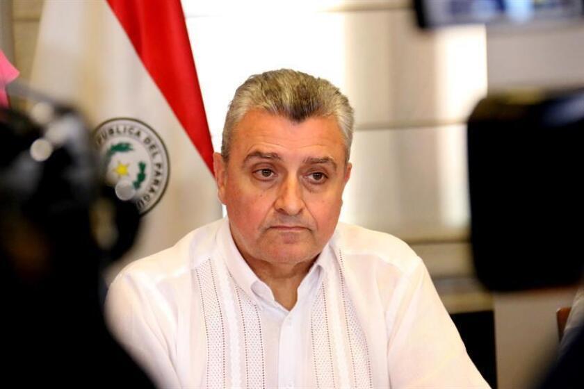Juan Ernesto Villamayor, ministro del Interior de Paraguay. EFE/Archivo