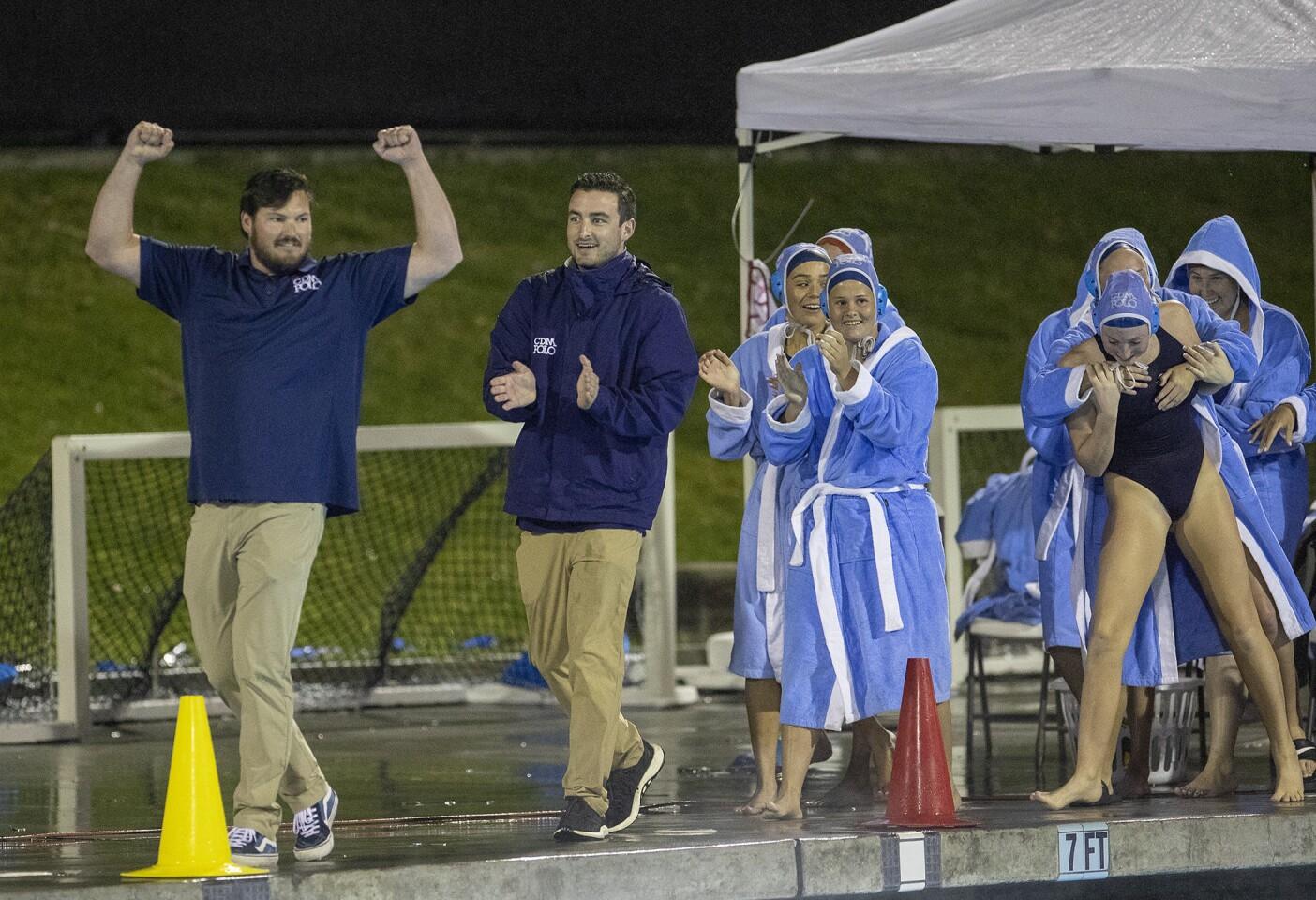 Photo Gallery: Corona del Mar vs. Orange Lutheran in girls' water polo