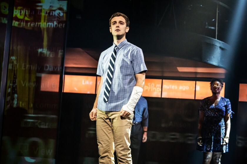 A photo of Stephen Christopher Anthony in 'Dear Evan Hansen'