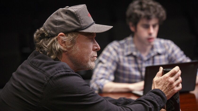 "Will Patton, foreground, and Brian Miskell in ""The Antipodes."""