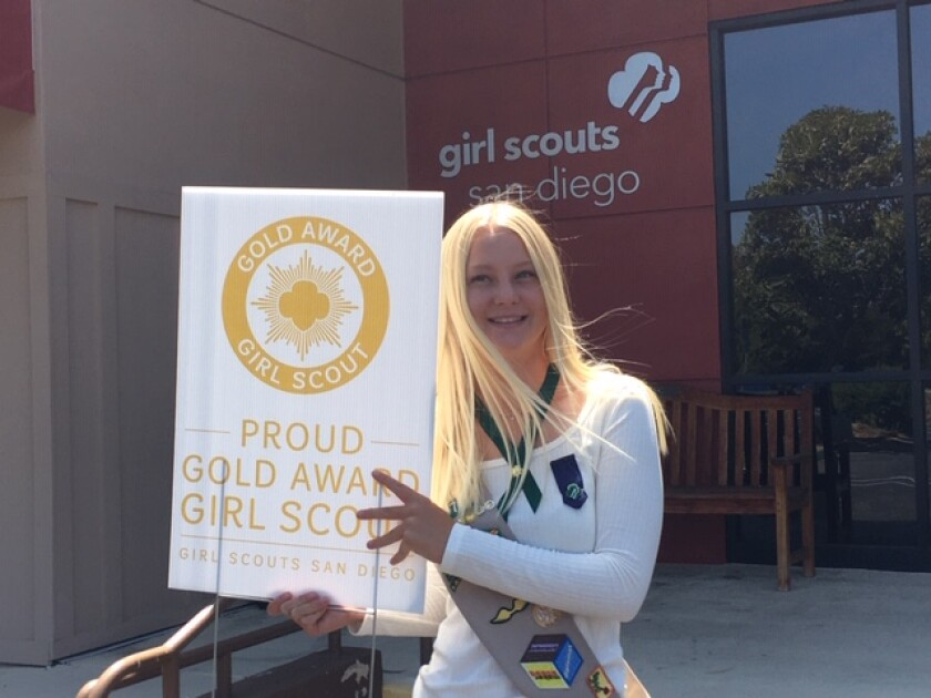 Gold Award Girl Scout Victoria Smitham