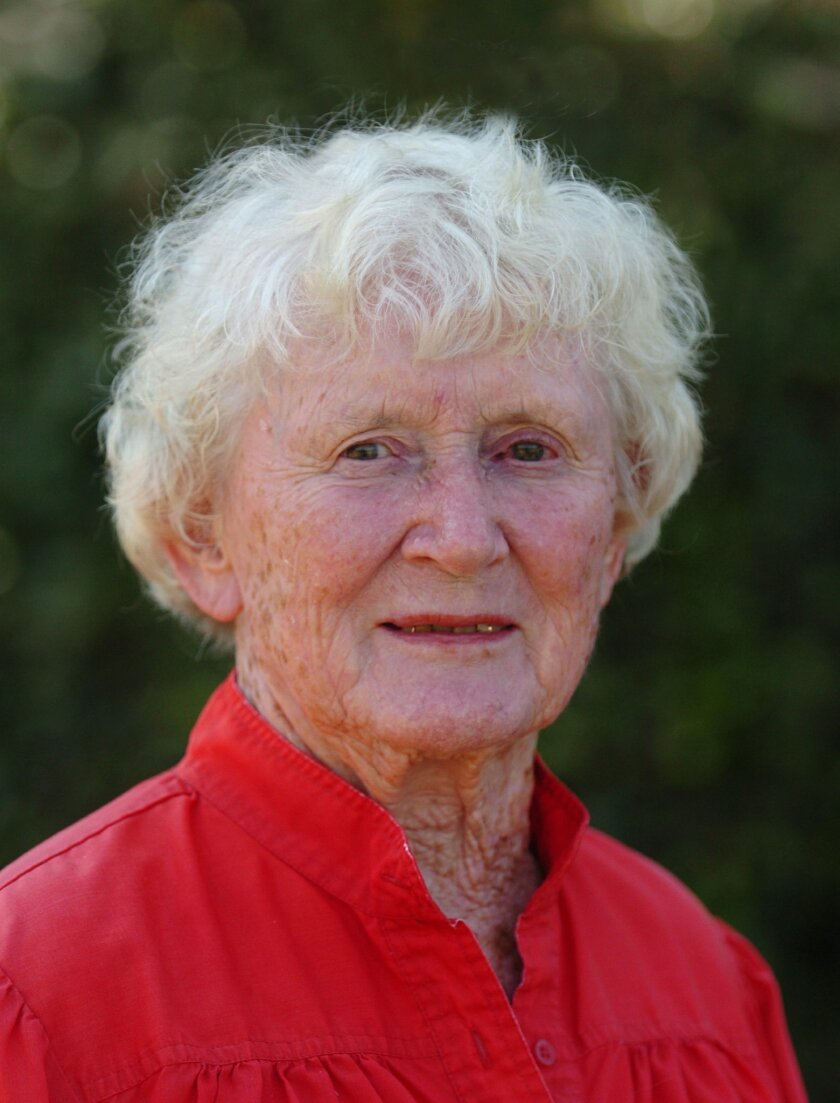 """Rose Crawford, author of """"Ask Rose"""" gardening column. Mugshot CREDIT: Don Boomer/The North County Times"""
