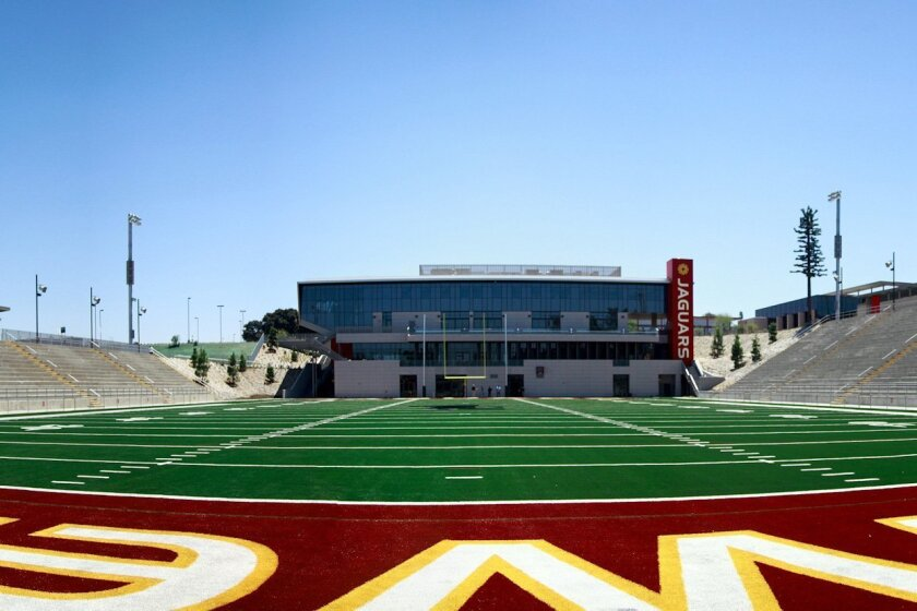 Southwestern College's DeVore Stadium will host this year's six high school football championship games.