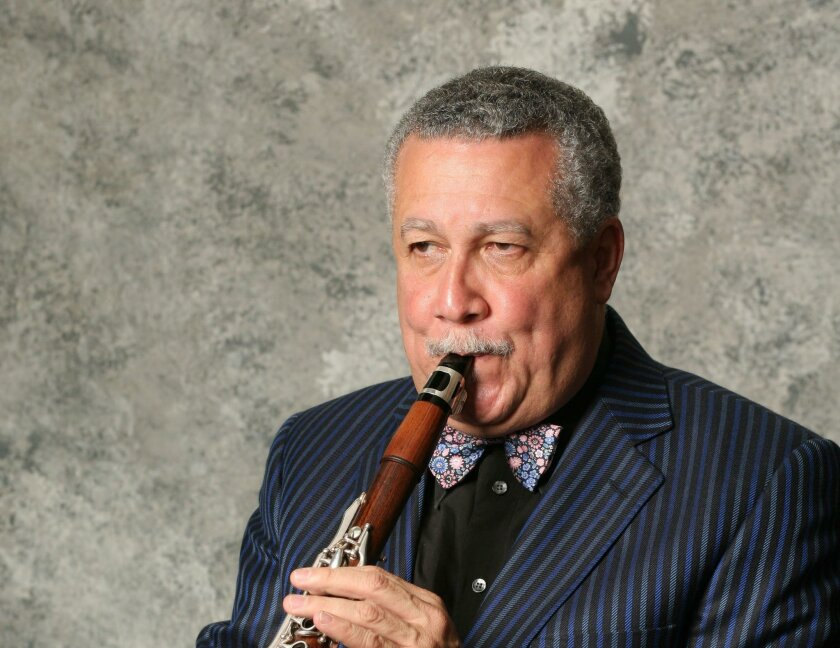 Cuban-born saxophone and clarinet great Paquito D'Rivera.