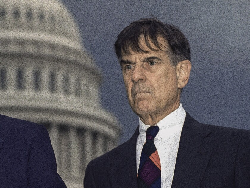 Pete Stark on Capitol Hill in 1994.