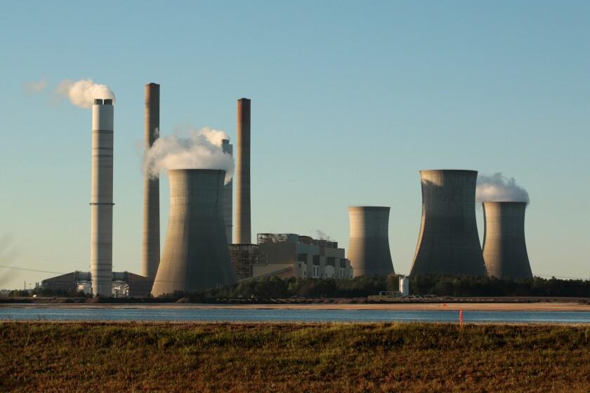 Coal-fired Robert W. Scherer Power Plant