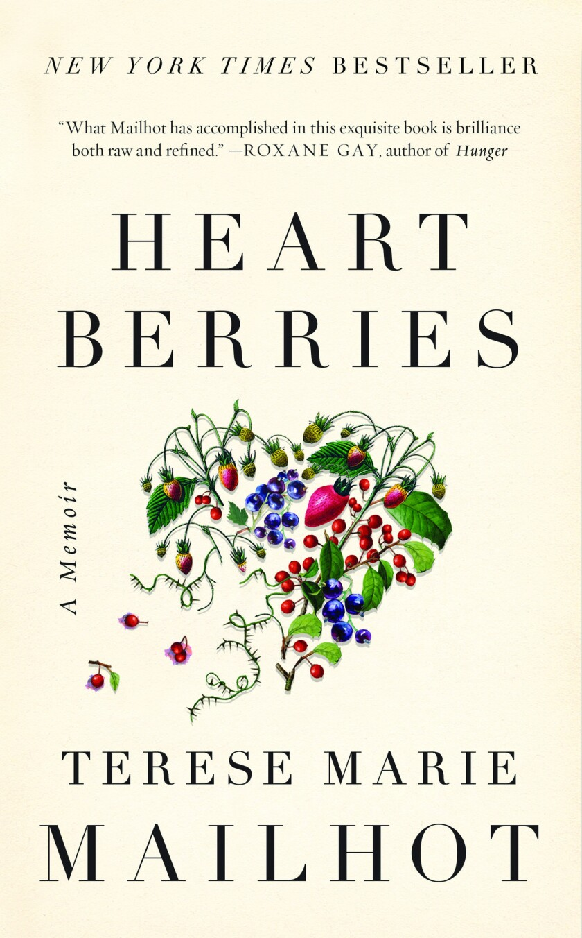 "A book Jacket for ""Heart Berries: A Memoir"" by Terese Marie Mailhot. Credit: Counterpoint"