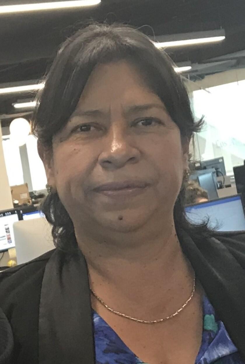 María Mercedes López, cónsul general de El Salvador en Los Angeles.