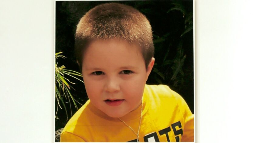 Aramazd Andressian Jr., 5, had been missing since late April.