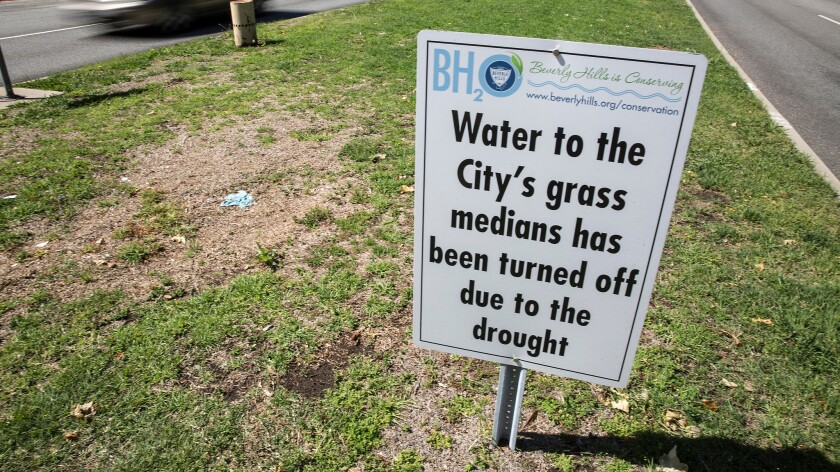 Water conservation in Beverly Hills