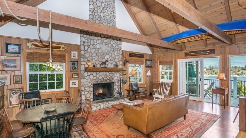 Hot Property | Anne Heche and James Tupper list Lake Arrowhead cabin