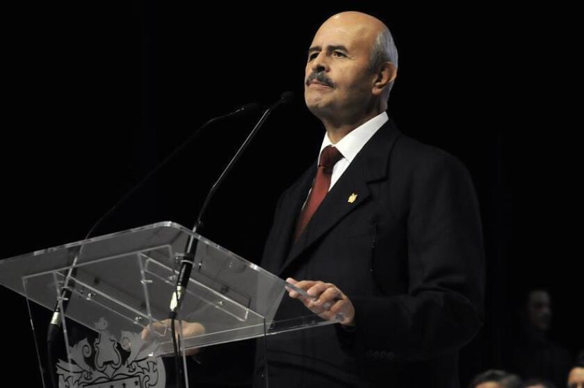 En la imagen, el exgobernador del estado de Michoacán Fausto Vallejo. EFE/Archivo