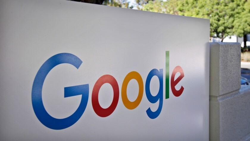 """Google said late Monday that it will prevent its lucrative digital ads from appearing on sites that """"misrepresent, misstate, or conceal information."""""""