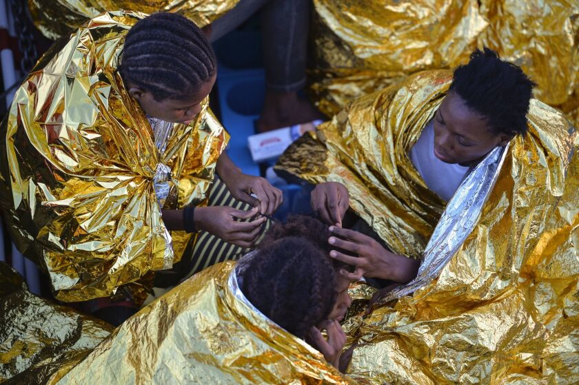 Italy says thousands of Nigerian women who arrive as migrants are