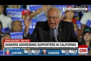 Bernie Sanders: 'We continue the fight'