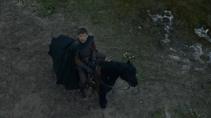 "Nikolaj Coster-Waldau as Jaime Lannister in the ""Game of Thrones"" episode ""The Dragon and the Wolf."""
