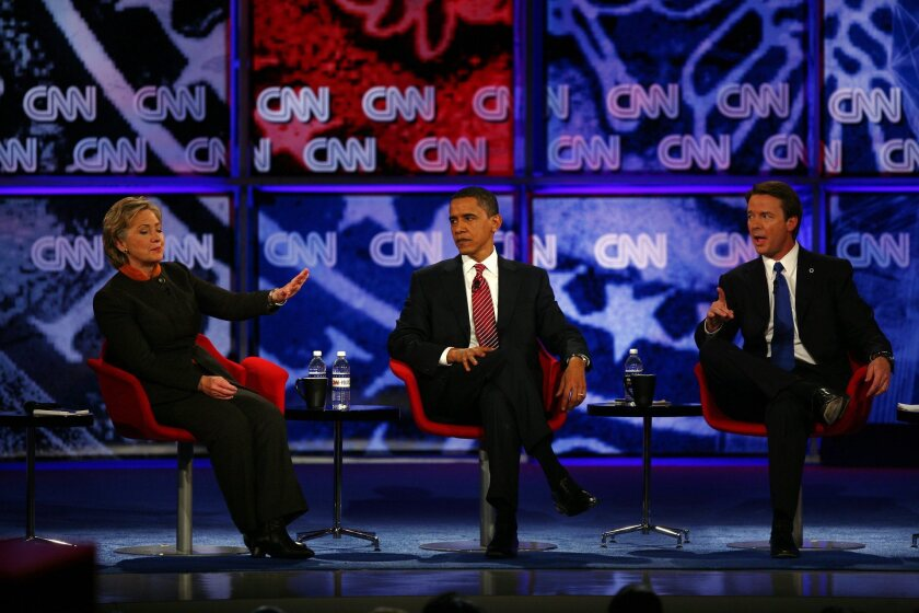 Democratic Presidential Candidates Debate In South Carolina
